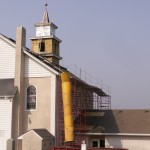 steeple replacement process
